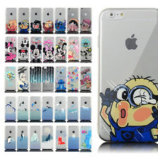 Colorful Ultrathin Cartoon cute Painted TPU Case For iPhone 4S 5s 6 6 plus