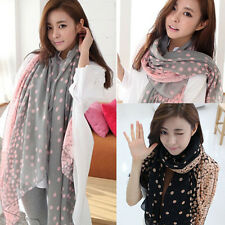 A Fashion Lady Women's Long Candy colors Scarf Wraps Shawl Stole Soft Scarves