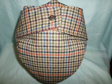 GENTS ENGLAND COUNTRY WOOL BUGATTI FLAT CAP EAR FLAPS SHOOTING HUNTING FISHING