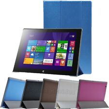 """Luxury Folio Leather Case Stand Cover Skin For 10.1"""" Lenovo Miix2 10 Tablet PC"""