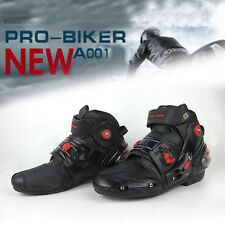 Men's motorcycle race sport boots Motorcycle Track Racing Riding Boots HOT