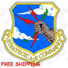 FREE SHIPPING USAF AIR FORCE STRATEGIC AIR COMMAND v2 STICKER MAGNET BANNER
