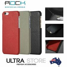 Rock Jazz Genuine Cowhide Leather Hand Made Case Cover iPhone 6/6s/ 6/6s Plus