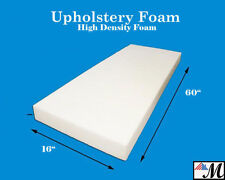 "Seat Foam Cushion Replacement Upholstery Per Sheet - All Sizes! 16""x60"""