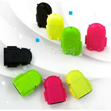 Cheapest Android Robot Micro USB OTG Host Adapter for Galaxy S3/S4/S5 Note2/3
