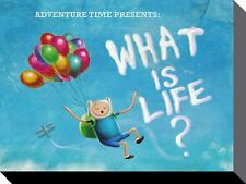 ADVENTURE TIME - WHAT IS LIFE?   BOX CANVAS PRINT VARIOUS SIZES OPTIONS