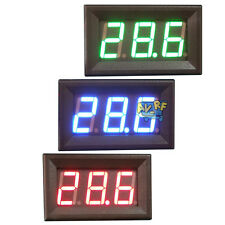 Car Digital Mini DC 4.5-30V LED Auto Voltmeter Voltage Volt Panel Meter 2 Wire