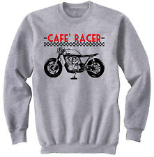 JAPANESE CAFE` RACER CB 750 MOTORCYCLE - NEW GRAPHIC SWEATSHIRT- S-M-L-XL-XXL