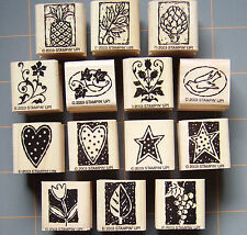 "STAMPIN UP ""NATURE BLOCKS & MORE"" ~ RUBBER STAMPS ~ YOU PICK! ~ RARE MUST HAVES!"