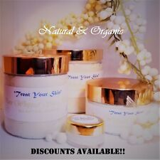 WHIPPED SHEA BUTTER, 100% PURE, ORGANIC, RAW, GRADE A, IVORY Scents optional!