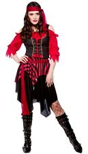 Shipwrecked Pirate Lady Buccaneer Swashbuckler Fancy Dress Costume XS to XXL