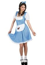 Dorothy Wizard of Oz Country Girl Book Week Ladies Fancy Dress Costume XS to XXL
