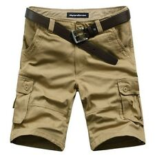 Men's Men Relaxed Fit Army Cargo Baggy Shorts Summer Pants Shorts 3 colors