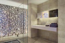 RAPOLANO MARFIL / CREAM TRAVERTINE EFFECT BATHROOM WALL & FLOOR TILES