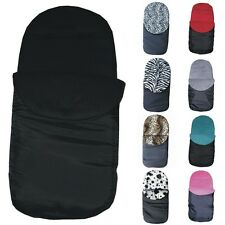 UNIVERSAL FIT FOOTMUFF COSY TOES - FITS MACLAREN BUGGY