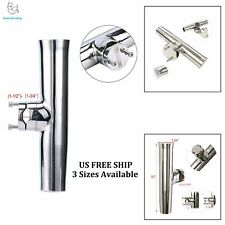 Excellent Stainless Tournament Style Clamp on Fishing Rod Holder for Rails