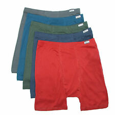 New Hanes Mens Cotton ComfortSoft Waistband Tagless Boxer Briefs (Pack of 5)
