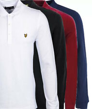 Lyle and Scott Men's Long Sleeve Polo Shirts