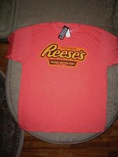 Hershey's Reese's Reeses Peanut Butter Cups T Shirt_Distressed Graphic_New w/tag