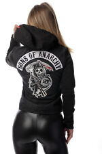 Sons Of Anarchy Official Womens Denim Highway Jacket