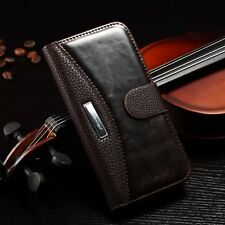 For iPhone Samsung Models Magnetic Leather Flip Slot Wallet Case Stand Cover