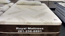 """FOR HOUSTONIAN ONLY. BIG DISCOUNT PRICE BAMBOO 12"""" SOFT MEMORY FOAM  MATTRESS"""