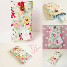 Deluxe Padded Case Any Phone iPhone 6 Plus 5 4 S5 HTC - in Cath Kidston Fabrics
