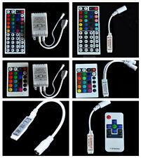 3key 10key 24key 44key IR Remote Controller RF For 3528 5050 RGB Led Strip DC12V