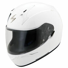 Scorpion EXO-R410 Full Face Helmet Gloss White Free Size Exchanges