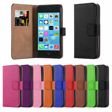 Flip Wallet Pu Leather Case Cover For Apple iPhone 5 C FREE Screen Protector