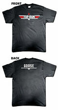 TOP GUN GOOSE T-SHIRT MENS NEW BRAND NEW RETRO 80's FANCY DRESS FUNNY & COOL