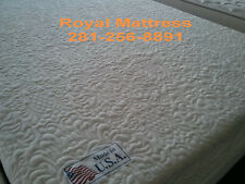 BEST FOR LESS! GOLDEN PEDIC GEL COOL LATEX MEMORY FOAM  MATTRESS FIRM. FREE SHIP