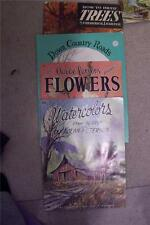 CHOICE How to Books Walter Foster Pub Trees Country Roads Flowers Waterscolors