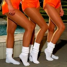 Peavey Tights Pantyhose XS-XL Footless for hooters uniform halloween costume