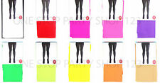 Full Length Colour or Pattern Opaque Pantyhose / Tights