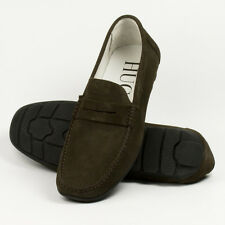 Brown Suede Loafers with rubber sole RRP £69.99 UK Sizes 7,11,12