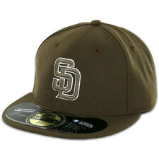 San Diego PADRES ALTERNATE Moss New Era 59FIFTY Fitted Caps MLB On Field Hats