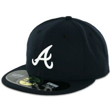 Atlanta BRAVES ROAD Away New Era 59FIFTY Fitted Caps MLB AC On Field Hats