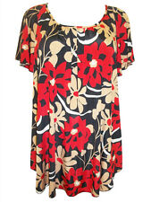 BNWT PLUS SIZE Marina Kaneva Angel Sleeve Floral Tunic dress top 16 20