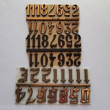 25mm Adhesive CLOCK NUMBERS Arabic Numerals For Clock Making