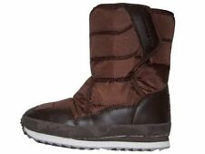 New Boys Brown Gumbies Gumrunner Snow Rain Mud Velcro Boots Sizes 10 & 12