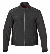 Triumph Brindley Men's Textile Leather Motorcycle Jacket Black MTPS15155