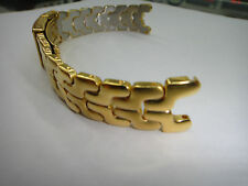 Solid S/S Gold plated bracelet.band.strap for Tag Heuer LINK series:18mm or 20mm