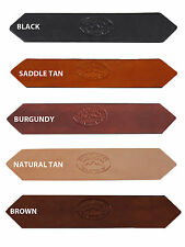 "New Barsony 1 1/2"" (1.5"") Heavy Duty Leather Belts for Sizes 54"" - 62"""