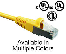 CAT5E Shielded Network Ethernet Cable Lan Internet Patch Cords Networking 1'-25'