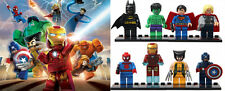 BNIB Marvel Avengers DC Superhero Mini Figures. Fits with lego. UK Seller.