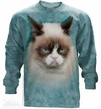 Grumpy Cat Long Sleeve T-Shirt from The Mountain - Adult S - 3X