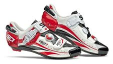 SIDI Ergo 3 Carbon Vernice Road Shoes, Look / SPD-SL - White / Red