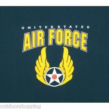 Navy Blue US AIR FORCE w/WINGS IMPRINT 1 SIDED T-SHIRT - Short Sleeve Tee, USAF