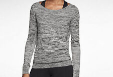 589296-063 New with Tag NIKE women's Epic Crew Knit Long Sleeve Training Shirt